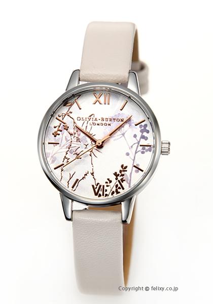 オリビアバートン レディース 時計 OLIVIA BURTON 腕時計 ILLUSTRATED ANIMALS VEGAN BLUSH ROSEGOLD & SILVER OB16WL71 【あす楽】