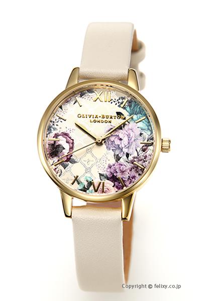 オリビアバートン レディース 時計 OLIVIA BURTON 腕時計 GLASSHOUSE NUDE & GOLD OB16EG99 【あす楽】