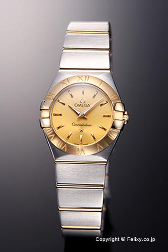 オメガ 時計 OMEGA レディース 腕時計 Constellation Quartz 24mm 123.20.24.60.08.001