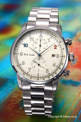 品質は非常に良い ポールスミス PAUL SMITH 腕時計 ポールスミス PAUL Block 腕時計 Chrono P10142【あす楽】, ディスカウント みやこ:481e477a --- canoncity.azurewebsites.net