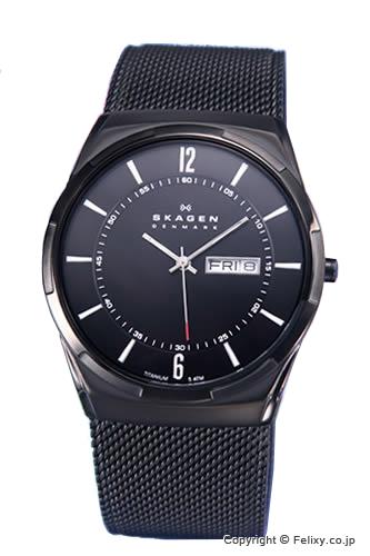 スカーゲン メンズ 時計 SKAGEN 腕時計 SKW6006 Activ (アクティブ) オールブラック