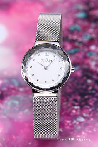 SKAGEN スカーゲン 456SSS レディース腕時計 スティール シルバー 【あす楽】