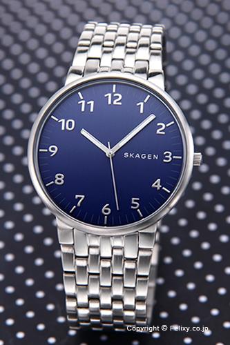 スカーゲン メンズ腕時計 SKAGEN アンカー ネイビーブルー SKW6201 【あす楽】