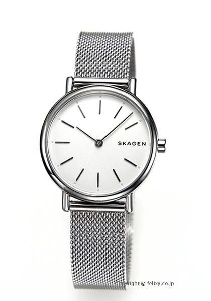 44ebbcab4c0a 【SKAGEN】スカーゲン腕時計Signatur(シグネチャー)ホワイト×シルバーSKW2692 D1ミラノ アウトレット特価品