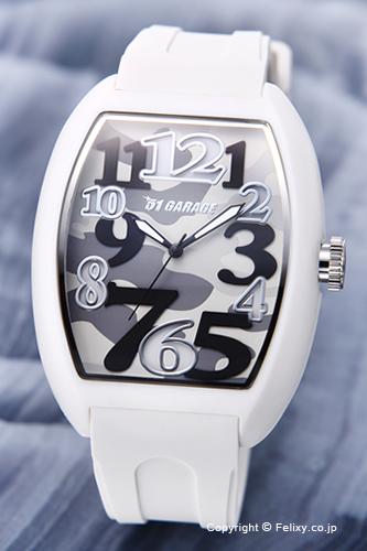 ゾンネ 腕時計 SONNE 時計 メンズ SONNE×HAORI ゾンネ×ハオリ Produced KOICHI IWAKI ホワイト(カモフラージュ) H020WH-CM
