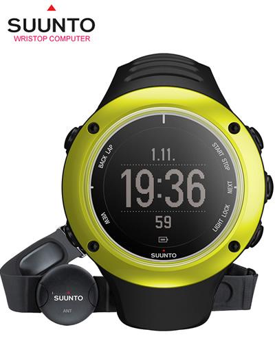 SUUNTO スント 腕時計 メンズ Ambit2 S HR (アンビット2 S ハートレート) Lime (ライム) SS020133000 【スント 時計】【あす楽】