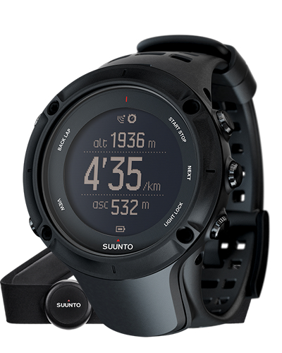 SUUNTO スント 腕時計 Ambit3 Peak Black HR (アンビット3 ピーク ブラック ハートレート) SS020674000 【スント 時計】