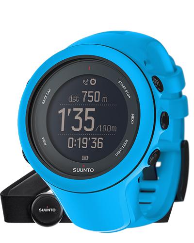 SUUNTO スント 腕時計 Ambit3 Sport Blue HR (アンビット3 スポーツ ブルー ハートレート) SS020679000 【スント 時計】