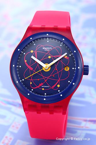 SWATCH スウォッチ 腕時計 Sistem 51(システム51) Sistem Pink(システム・ピンク) SUTR401 【あす楽】