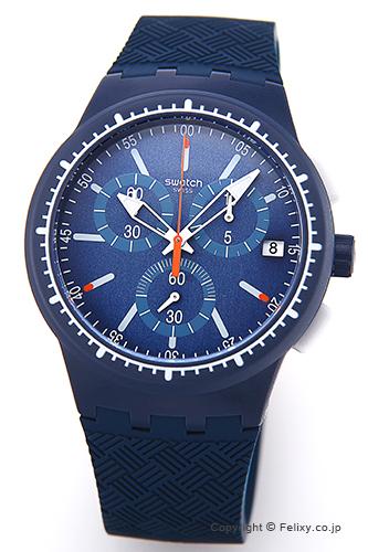 スウォッチ SWATCH 腕時計 ORIGINALS CHRONO GARA IN BLU(オリジナルズ クロノ) SUSN410 【あす楽】