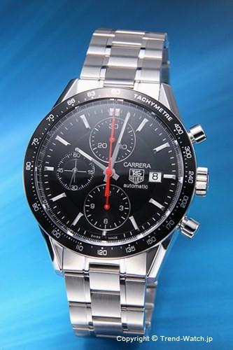 高級感 【TAG HEUER】 タグホイヤー 腕時計 Carrera Chronograph Tachymetre (カレラ クロノグラフ タキメーター) ブラック&レッド CV2014.BA0794 【タグホイヤー 時計】, carro(デザイン雑貨カロ) 63b8c338