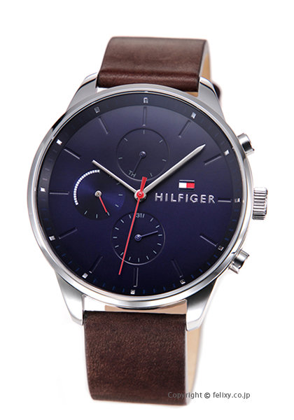 トミーヒルフィガー TOMMY HILFIGER 腕時計 CHASE 1791487 【あす楽】