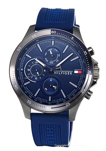 送料無料 トミーヒルフィガー スーパーセール 時計 1791721 TOMMY 腕時計 直送商品 HILFIGER メンズ Bank