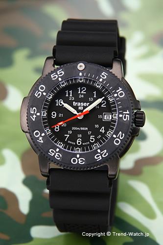 トレーサー TRASER 腕時計 Black Storm Pro (ブラック ストーム プロ) ブラックラバーストラップ P6504.930.35.01【トレーサー 時計】