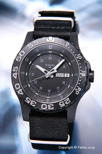 TRASER トレーサー 腕時計 Type6 Mil-G Shadow (タイプ6 ミル-G シャドウ) ブラック P6600.41I.C3.01 【トレーサー 時計】