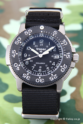 Tracer TRASER men s watch Commander Force (Force Commander) TI (titanium)    black P6506.430.32.02 d4042fceec9