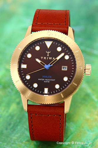 トリワ 腕時計 TRIWA チェスナット バーレン ブラウンレザーストラップ HVST104-SC010213 【あす楽】