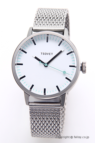 ソベット TSOVET 腕時計 SVT-SC38シリーズ ホワイト SC111501-40 【あす楽】