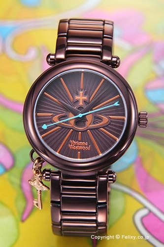 Vivienne Westwood ヴィヴィアンウエストウッド レディース腕時計 ブラウン VV006KBR