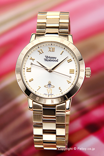 ヴィヴィアン ウエストウッド Vivienne Westwood 腕時計 ブルームズベリー ゴールド VV152GDGD