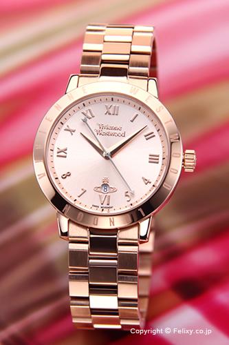 ヴィヴィアン ウエストウッド Vivienne Westwood 腕時計 ブルームズベリー ローズゴールド VV152RSRS 【あす楽】
