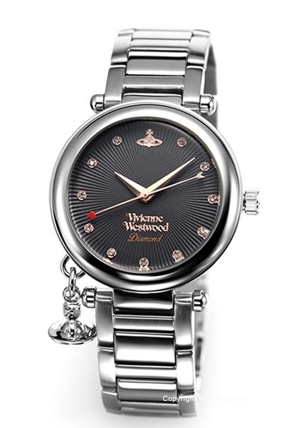 ヴィヴィアン ウエストウッド 時計 Vivienne Westwood レディース 腕時計 Orb Diamond VV006GNSL 【あす楽】
