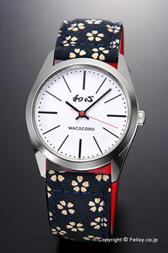和心 時計 WACOCORO 腕時計 UDAINDEN(宇陀印傳) メンズ WA-001M-H