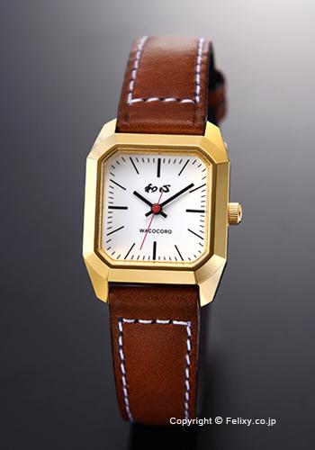 和心 時計 WACOCORO 腕時計 PIANO(ピアノ) レディス WA-001L-E