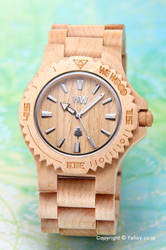 WE WOOD ウィーウッド 腕時計 Date (デイト) ベージュ