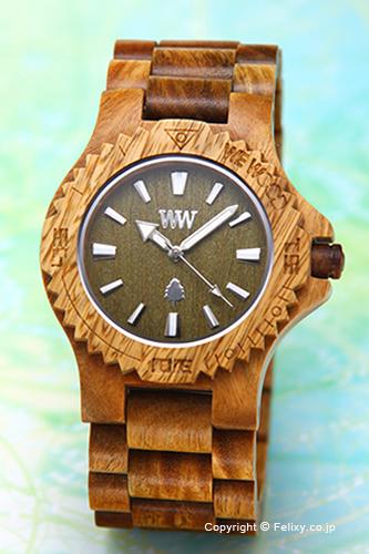 WE WOOD ウィーウッド 腕時計 Date (デイト) アーミー