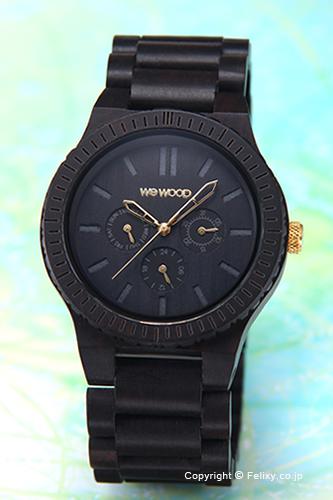 WE WOOD ウィーウッド 腕時計 Kappa (カッパ) ブラック(ゴールド)