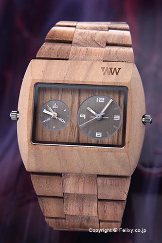 ウィーウッド WE WOOD 腕時計 Jupiter rs (ジュピターrs) ナッツ