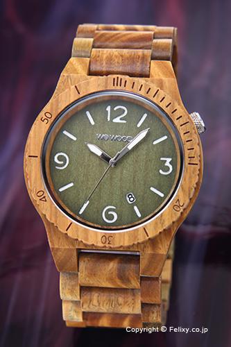 ウィーウッド WE WOOD 腕時計 Alpha (アルファ) アーミー
