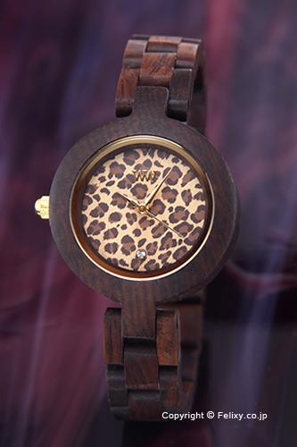 ウィーウッド WE WOOD 腕時計 Pardus (パルダス) チョコレート