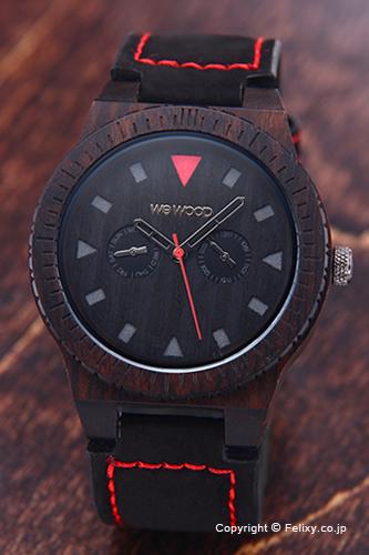 WE WOOD ウィーウッド 腕時計 レオ テラ ブラック