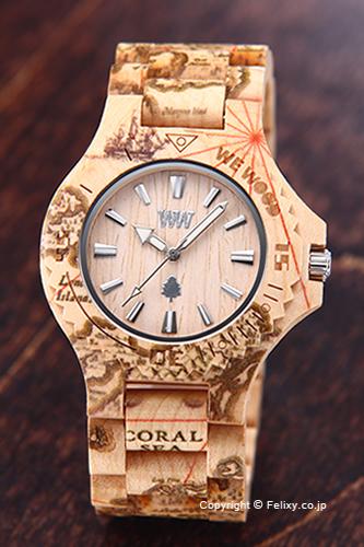 WE WOOD ウィーウッド 腕時計 Date (デイト) マゼラン ベージュ