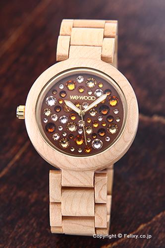WE WOOD ウィーウッド 腕時計 Alnus (アルナス) ベージュ トパーズ