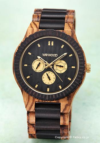 ウィーウッド WE WOOD 腕時計 Kappa Zebrano Choco