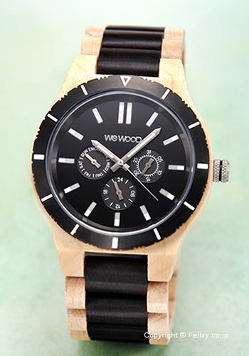 ウィーウッド WE WOOD 腕時計 Kappa MB Beige Black