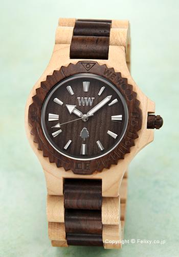 ウィーウッド WE WOOD 腕時計 Date Beige Choco