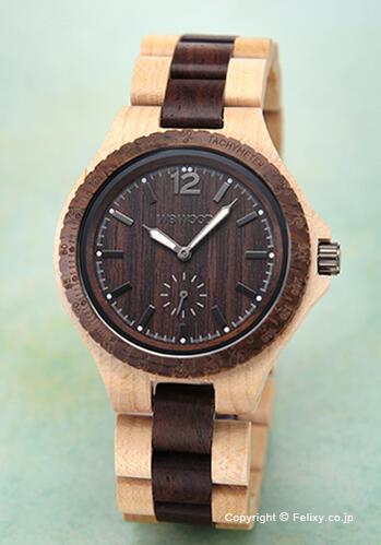 ウィーウッド WE WOOD 腕時計 Siko Beige Choco
