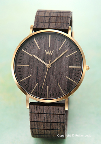 ウィーウッド WE WOOD 腕時計 Horizon Gold Ebony