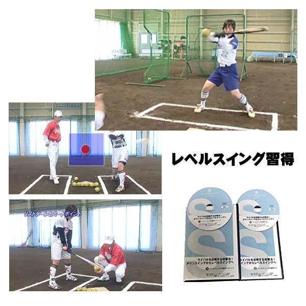 ソフトボール・レベルスイング習得プログラム~打率を上げるコツ~2枚組DVD