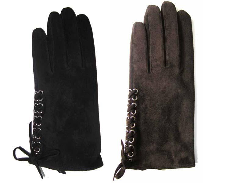 代引不可 Solnexスエード本革手袋 黒 ブラウン てぶくろ 可愛い レディース メンズ 上品 1年保証 革 NEW売り切れる前に☆
