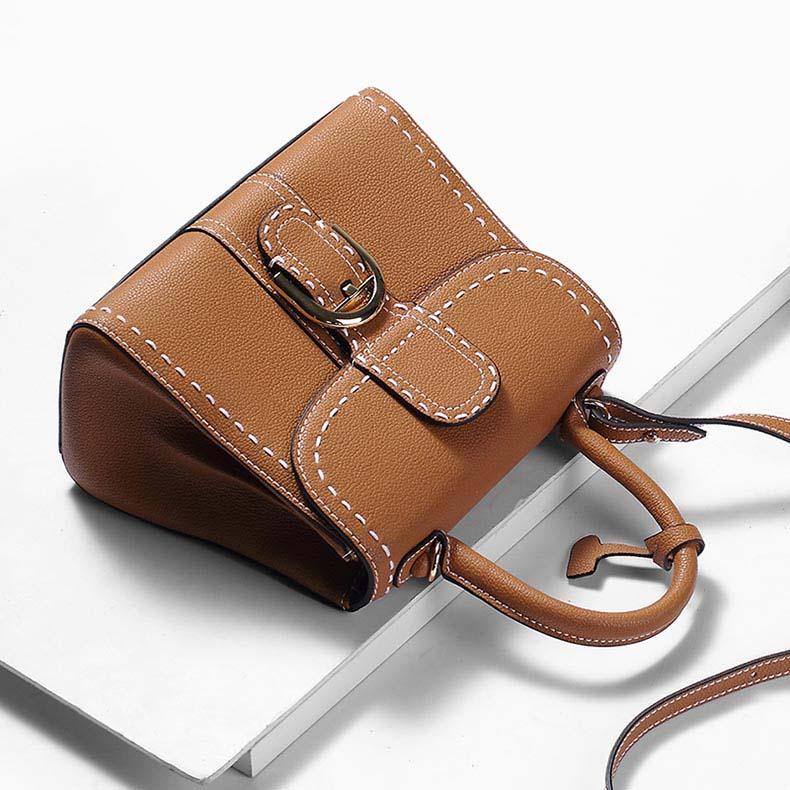 お買得 現品 太糸ステッチデザイン 2way ハンドバッグ 特別セール品 IUHA レディース 通勤 レザー 牛革 ショルダーバッグ