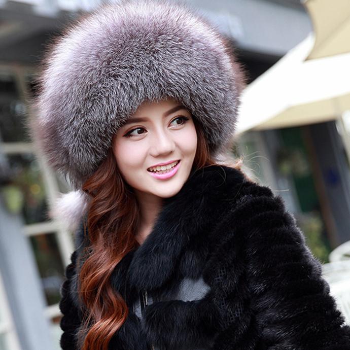 フォックスファー 帽子 フォックスハット ラムレザー付 小顔効果 ふわふわ 暖かい もこもこ レディース ぼうし 毛皮ハット 柔らかい ファー帽子 毛皮帽子 フォックスしっぽ付 リアルファー 冬 冬物 レディースハット ファッション おしゃれ プレゼント ギフト mink fur hat