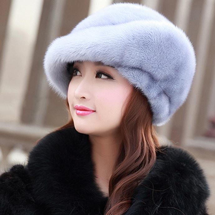 レディース 帽子 ミンクファー 帽子 ふわふわ 毛皮ハット ミンクハット もこもこ ぼうし ファー帽子 毛皮帽子 柔らかい リアルファー ソフト 冬 冬物 レディースハット ファッション おしゃれ フィット プレゼント ギフト 防寒対策