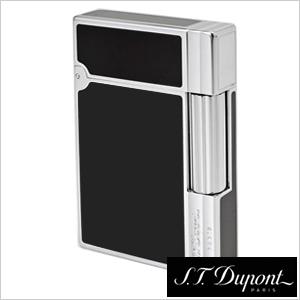 エス・テー・デュポンライター S.T.Dupont喫煙具 S.T.Dupont ライター エス・テー・デュポン 喫煙具 ギャッツビー ヘアライン クローム ブラックラッカー GATSBY メンズ DUPONT-18109 [ ガスライター 高級 ブランド プレゼント 喫煙具 ]