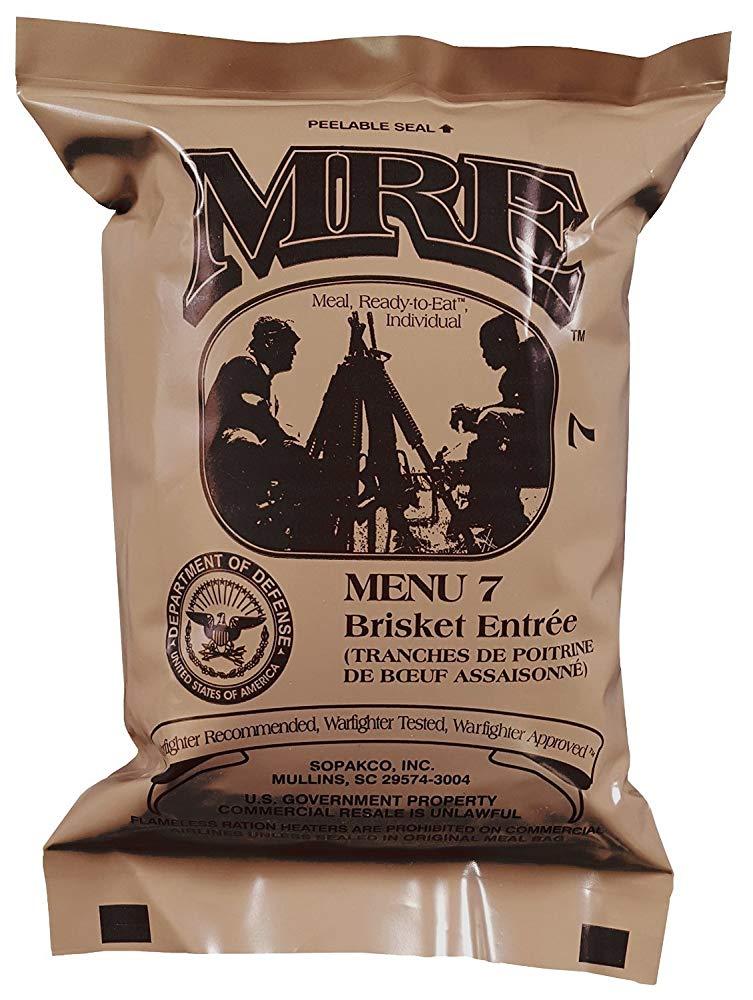 MRE 米軍戦闘糧食 モデル着用&注目アイテム アイテム勢ぞろい