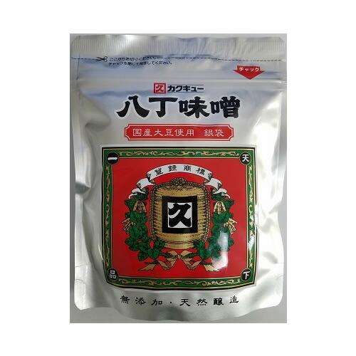 国産大豆のみを使用した八丁味噌です カクキュー 新作続 国産大豆 安心の定価販売 八丁味噌 銀袋 300g
